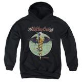 Motley Crue Dr Feelgood Youth Pullover Hoodie Sweatshirt Black