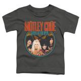 Motley Crue Crue Shout Toddler Classic T-Shirt Charcoal