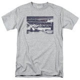 Rocky American Will Adult 18/1 Classic T-Shirt Athletic Heather