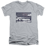 Rocky American Will Adult V-Neck Classic T-Shirt Athletic Heather