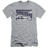 Rocky American Will Adult 30/1 Classic T-Shirt Athletic Heather