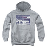 Rocky American Will Youth Pullover Classic Hoodie Sweatshirt Heather