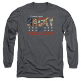 Rocky A Proven Winner Adult Long Sleeve Classic T-Shirt Charcoal