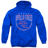 Rocky Count Of Monte Fisto Adult Pullover Hoodie Classic Sweatshirt Royal Blue