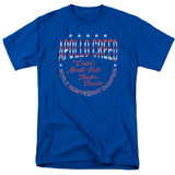 Rocky Count Of Monte Fisto Adult 18/1 Classic T-Shirt Royal Blue