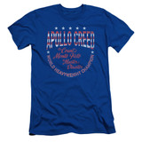 Rocky Count Of Monte Fisto Adult 30/1 Classic T-Shirt Royal Blue