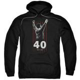 Rocky Stars Adult Pullover Hoodie Classic Sweatshirt Black