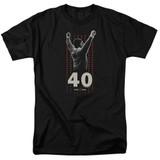 Rocky Stars Adult 18/1 Classic T-Shirt Black