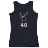 Rocky Stars Junior Women's Tank Top Classic T-Shirt Black