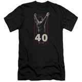 Rocky Stars Adult 30/1 Classic T-Shirt Black