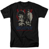 Rocky Going The Distance Adult 18/1 Classic T-Shirt Black