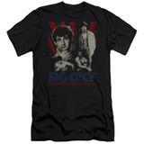Rocky Going The Distance Premuim Canvas Adult Slim Fit 30/1 Classic T-Shirt Black