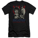 Rocky Going The Distance Adult 30/1 Classic T-Shirt Black