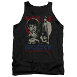 Rocky Going The Distance Adult Tank Top Classic T-Shirt Black