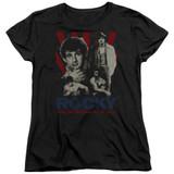Rocky Going The Distance Women's Classic T-Shirt Black