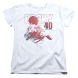 Rocky 40 Years Strong Women's Classic T-Shirt White