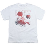 Rocky 40 Years Strong Youth Classic T-Shirt White