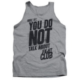 Fight Club Rule 1 Adult Tank Top Classic T-Shirt Athletic Heather