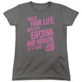 Fight Club Life Ending Women's Classic T-Shirt Charcoal