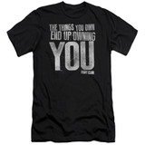 Fight Club Owning You Adult 30/1 Classic T-Shirt Black