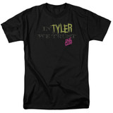 Fight Club In Tyler We Trust Adult 18/1 Classic T-Shirt Black