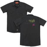Fight Club In Tyler We Trust (Back Print) Adult Work Shirt Black