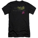 Fight Club In Tyler We Trust Adult 30/1 Classic T-Shirt Black