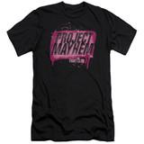 Fight Club Project Mayhem Adult 30/1 Classic T-Shirt Black