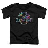Jurassic Park Prehistoric Groove Toddler T-Shirt Black