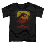 Jurassic Park Welcome To JP Toddler T-Shirt Black