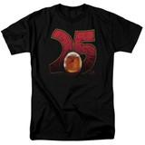 Jurassic Park Amber Adult 18/1 T-Shirt Black