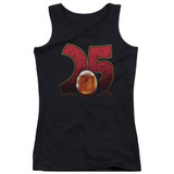 Jurassic Park Amber Junior Women's Tank Top T-Shirt Black