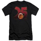 Jurassic Park Amber Premium Adult 30/1 T-Shirt Black