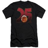 Jurassic Park Amber Adult 30/1 T-Shirt Black