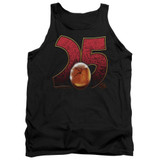 Jurassic Park Amber Adult Tank Top T-Shirt Black