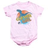 Jurassic Park Clever Girl Baby Onesie T-Shirt Pink