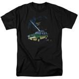 Jurassic Park Turn It Off Adult 18/1 T-Shirt Black
