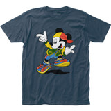 Mickey Mouse Hip Hop Mickey Fitted Jersey T-Shirt