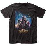 Guardians of the Galaxy Poster Fitted Jersey Classic T-Shirt