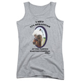 Parks and Recreation Lil Sebastian Junior Women's Tank Top T-Shirt Athletic Heather