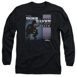 Parks and Recreation Album Cover Long Sleeve T-Shirt Black