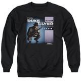 Parks and Recreation Album Cover Adult Crewneck Sweatshirt Black