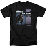Parks and Recreation Album Cover Adult 18/1 T-Shirt Black