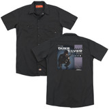 Parks and Recreation Album Cover (Back Print) Adult Work Shirt Black