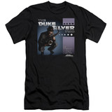 Parks and Recreation Album Cover Adult 30/1 T-Shirt Black