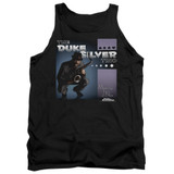 Parks and Recreation Album Cover Adult Tank Top T-Shirt Black