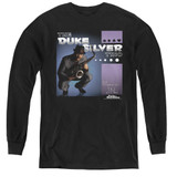 Parks and Recreation Album Cover Youth Long Sleeve T-Shirt Black