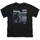 Parks and Recreation Album Cover Youth T-Shirt Black