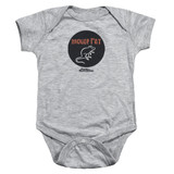 Parks and Recreation Mouse Rat Circle Baby Onesie T-Shirt Athletic Heather