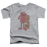 Sesame Street Vintage Elmo Toddler T-Shirt Athletic Heather